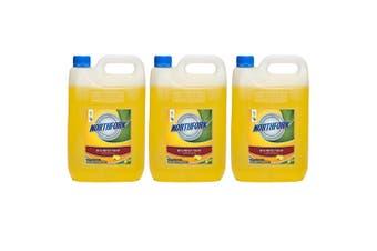 15L Northfork Disinfectant Lemon Bench/Floor/Bathroom Cleaning Sanitiser