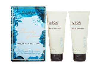 2pc Ahava Elements of Love 100ml Hand Moisturiser Cream Skin Care Dead Sea Water