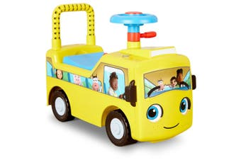 Little Tikes Little Baby Bum Wheels on the Bus Scoot Ride-On 12m+ Toy Yellow