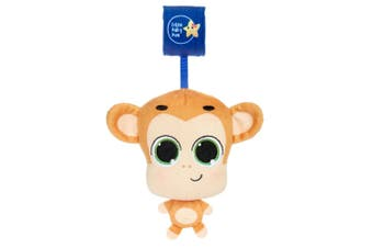 Little Tikes Musical Minis Baby 6m+ Toy for Car Seat/Stroller Mac the Monkey BR