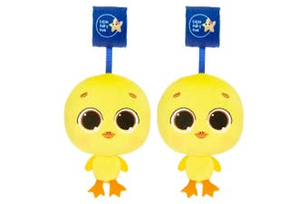 2x Little Tikes Musical Minis Baby Toy 6m+ for Stroller/Car Seat Pram Dylan Duck