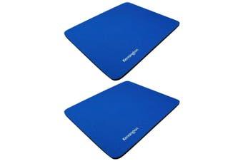 2PK Kensington Basic Mouse Pad Mat Mousepad for PC/Laptop Desktop Computer Blue