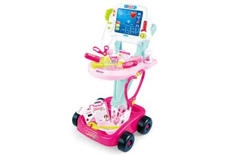 Kids Pretend Play Doctors/Nurses Medical Cart Toddler Toy/Play Lights/Sounds