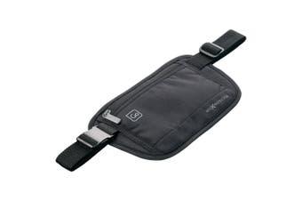 Go Travel RFID Protection Lightweight Money Belt Waist Belt Pouch/Travel Wallet
