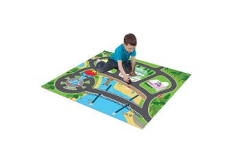 Paw Patrol Foam Megamat/Playmats/Playset 61in x 47in w/ Asst Vehicle Kids 3y+