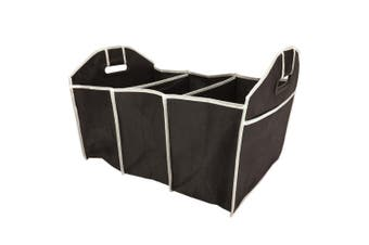 Box Sweden 3 Section Car Boot Organiser Shopping Foldable Storage Bag Assorted