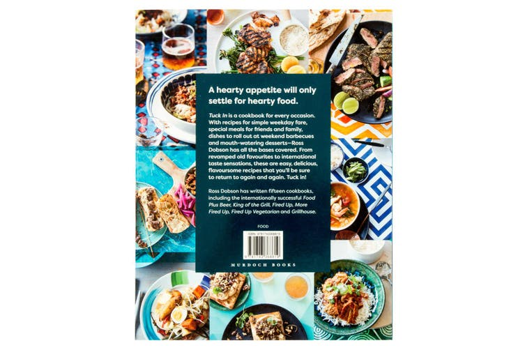 Tuck In: Good Hearty Food Any Time Recipe Cook/Cooking Book Hardcover Cookbook