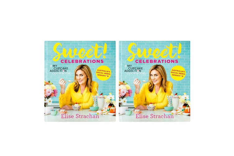 2x Sweet! Celebrations: A My Cupcake Addiction Cookbook Recipe Dessert Cook Book