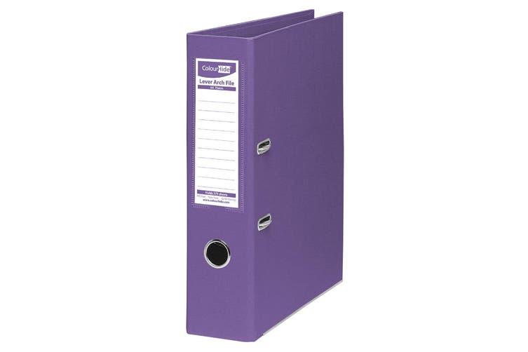 8PK ColourHide A4 375 Sheets Lever Arch File Folder/Binder Office Organiser PP