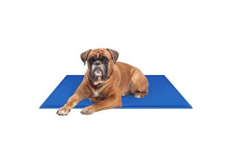 Paws & Claws 90x50cm Pet Comfort Cooling Gel Mat/Pad/Cushion for Dogs/Cats/Pets