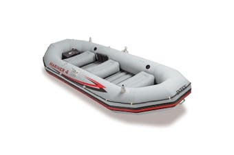 Intex 328cm Mariner 4 Inflatable/Floating Sports Fishing Boat w/ Oars Carry Bag