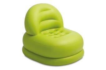 Intex Air Furniture Mode 99x84cm Inflatable Chair/Sofa Indoor/Camping/Beach GRN