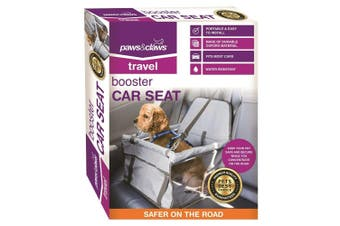 Paws & Claws Pet Booster Car Seat Protector Safety Basket Dog/Cat Travel Carrier