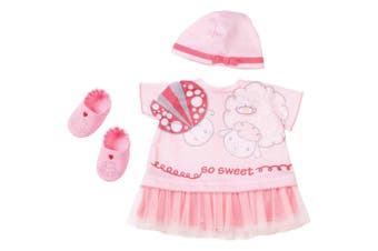 Baby Annabell Deluxe Summer Dream Clothing/Hat/Shoes for Toy Doll Set Kids 3y+