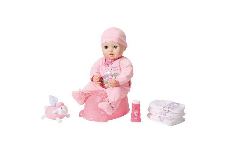 Baby Annabell Potty Powder/Tissue/Nappies Pretend/Role ...