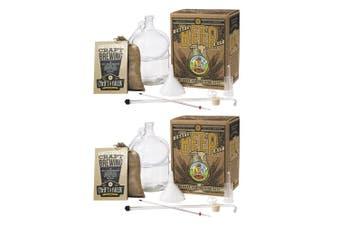 2PK Craft A Brew Oktoberfest Ale Brew Beer/Liquor Home Glass Brewing Starter Kit