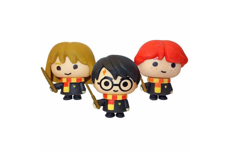 3PK Harry Potter Charms Kids/Children Collectible Figures Office/School Erasers