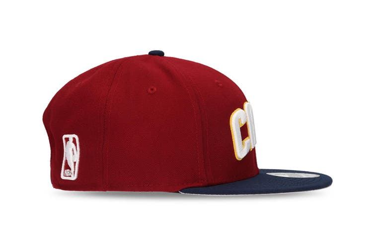 New Era Cleveland Cavaliers 9FIFTY Adult Snapback Cap/Hat NBA Basketball Maroon