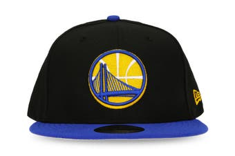 New Era Golden State Warriors 9FIFTY Adult Snapback Cap/Hat Basketball BLK/BLU