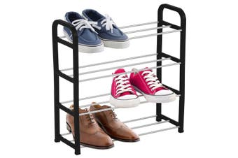Boxsweden 4 Tier Shoe Rack/Storage Stand Shoes Organiser/Cabinet Asst. Colour
