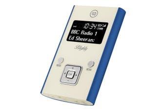 View Quest Blighty DAB+ Pocket Digital FM Radio/Bluetooth/Wireless Speaker Blue