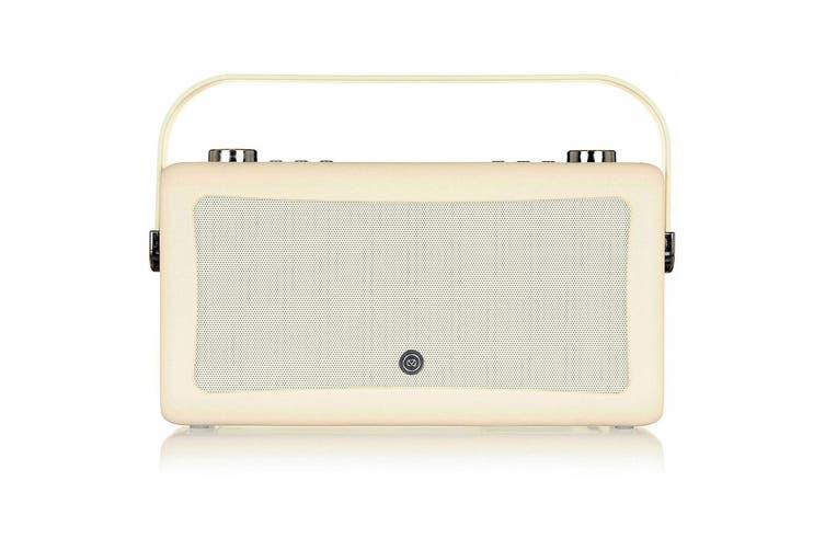 VQ Hepburn Mk II DAB+ FM Digital Radio/Bluetooth Speaker/Vintage/Wireless Cream
