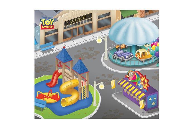 """Disney Pixar Toy Storey 31.5"""" x 27.5"""" Megamat Playmat w/ Vehicle Kids 3y+ Asst"""