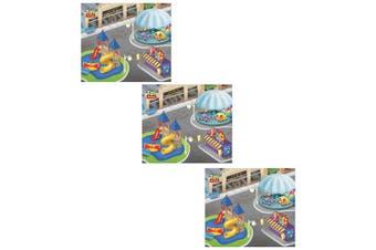 """3x Disney Pixar Toy Storey 31.5"""" x 27.5"""" Megamat Playmat Kids 3y+ w/Vehicle Asst"""