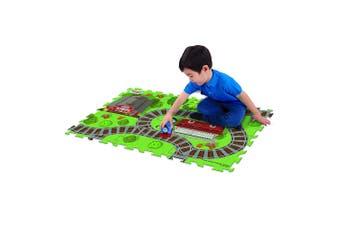 "Thomas & Friends 28"" x 19"" Megamat Playmat Kids 3y+ Toy w/ 1 Assorted Vehicle"