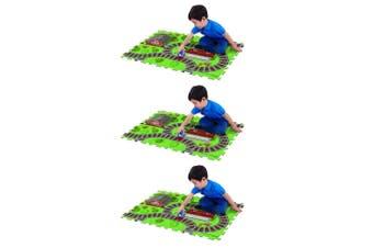 "3x Thomas & Friends 28"" x 19"" Megamat Playmat Kids 3y+ Toy w/ 1 Assorted Vehicle"