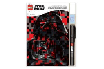 Star Wars Lego Invisible Writer Kids/Children Writing/Notebook/LED Pen Set 6y+