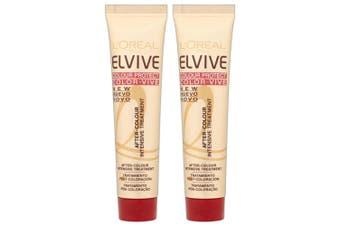 2PK L'Oreal Paris 40ml Elvive Colour Protect Intensive Conditioner Hair Care