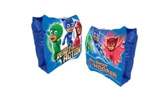 PJ Masks Kids Inflatable Swim Arm Band Swimming Pool Water Floaties/Armbands Set