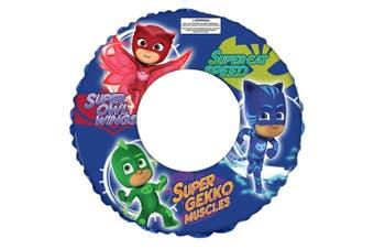 PJ Masks Floating Inflatable Kids Swim Ring Swimming Pool Round Water Fun Safety