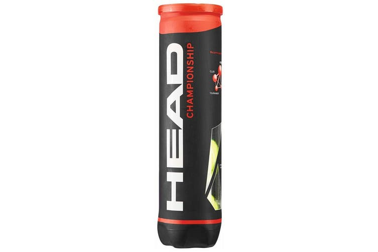16pc Head Championship Tennis Balls Tube/Can/Case f/ Tournament/Club/Training