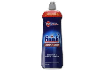 Finish 800ml Dishwashing Rinse Aid Shine/Protect Shiny/ Drier/Drying Dishes