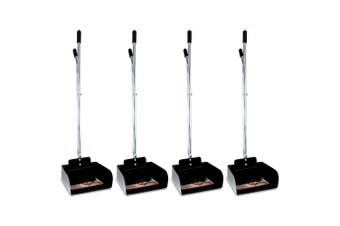 4PK Paws & Claws Durable Heavy Duty Metal Dogs/Pets Pooper Scooper w/ Dustpan