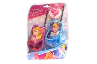 Disney Princess Walkie Talkies Set Kids/Children/Friends Toy/Play/Talk 60m Range