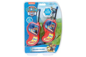 Paw Patrols Walkie Talkies Radio Set Kids/Children/Friends Toy/Play 60m Range