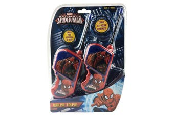 Ultimate Spider-Man Walkie Talkies Set Kids/Children Toy/Play/Game 60m Range