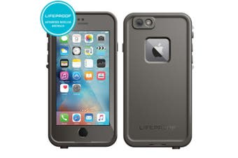Lifeproof Fre Tough Waterproof Shockproof Drop Proof Cover for iPhone 6/6s Grey