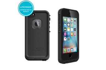 Black Lifeproof Fre Case Waterproof Shockproof Cover for iPhone 5/5S/SE(1st Gen)