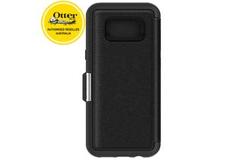 Otterbox Strada Folio Case/Cover/Leather Protector for Samsung Galaxy 8+ Black