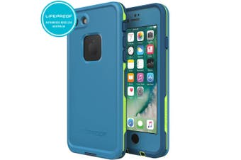 Lifeproof Fre Blue/Green Case/Cover Waterproof Snow/Drop Proof for iPhone 7/8
