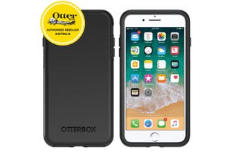 Otterbox Symmetry Series Sleek Protection Case Cover f/ iPhone 7/8 Plus Black