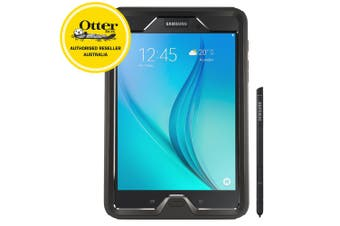 """OtterBox Defender Case Phone Cover For Galaxy Tab A 8"""" (2017) Black"""