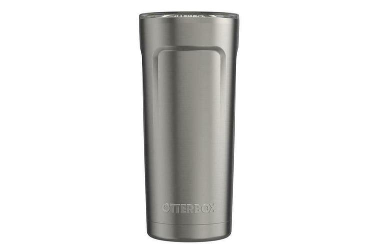 Otterbox Elevation Tumbler 600ml Travel Drink Cup w/Lid Stainless Steel Silver