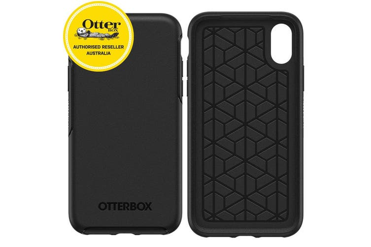 Otterbox Symmetry Case Cover Drop Sleek/Slim Protection for iPhone X/Xs Black