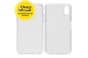 OtterBox Symmetry Clear Case/Cover Back Drop Protection for iPhone XR Stardust