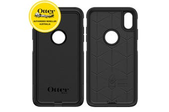 "Otterbox Commuter Case Cover Dual Protection for Apple iPhone Xs Max 6.5"" Black"